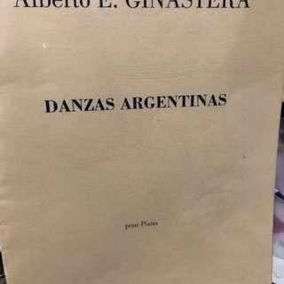 Ginastera- Danzas Argentinas (piano)