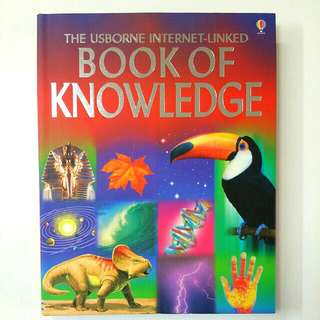 The Usborne Internet-Linked Book of Knowledge by Emma Helbrough (Children Non-Fiction)