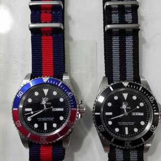 Proking Submariner Quartz Watch
