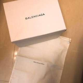Balenciaga Box+Dust Bag