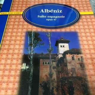 Albeniz suite espagnole opus 47 (piano)