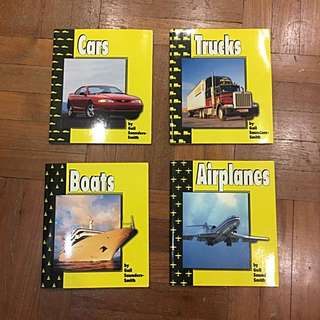 Capstone Press Transportation Children's Readers
