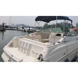 Used boat with cabin sell $58000 cheaper then buy a car, call 92308506