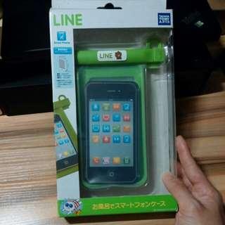 LINE正版電話防水套