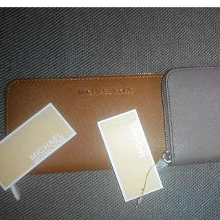 MK 全新長銀包, 美國買,有單, 2 色, $850