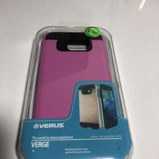 🍀全新Samsung S7 edge 手機殼 (粉紅色.防撞)🍀