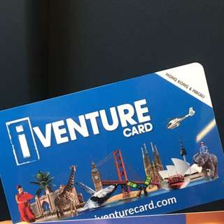 Iventure Card - Hongkong and Macau 3-day pass