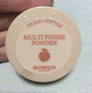 Skin Food finish powder