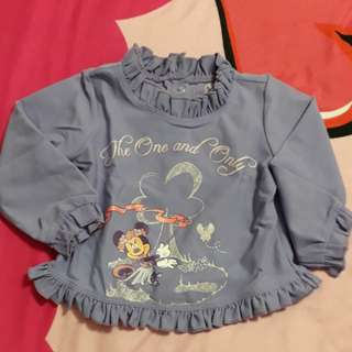 Disney Store Minnie Mouse Top