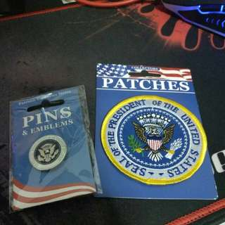 SEAL of THE POTUS pin & patch