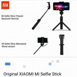 小米 Xiaomi selfie-stick (tripod), black / grey