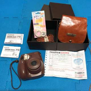 Fujifilm Mini7s 全套拍立得相機組(含運)