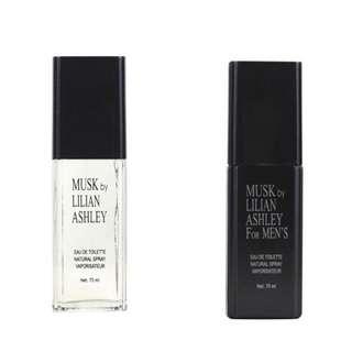 MUSK BY LILIAN ASHLEY perfume 70 ml