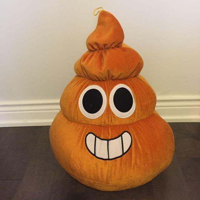 3ft. Smiley Poop Emoji Stuffy
