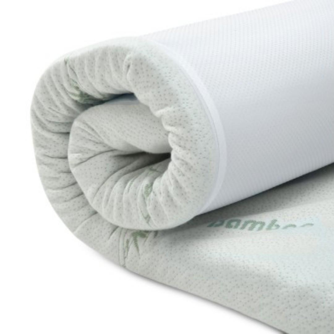 5cm Memory Foam Mattress Topper Double SKU: MATTRESS-TOP-5Z-5-PP-D