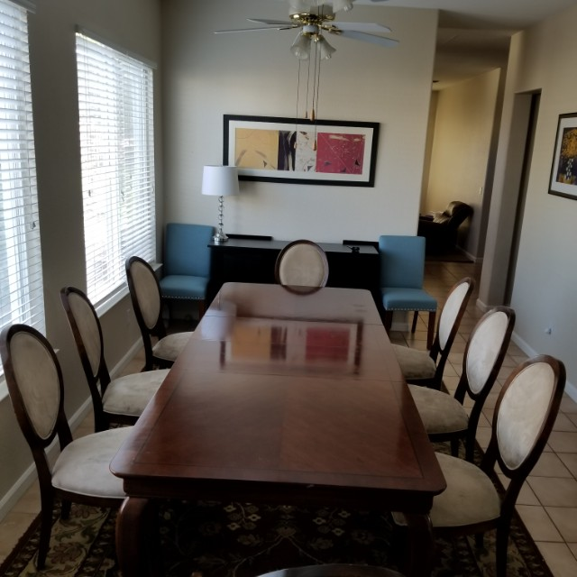 6 - 8 Seater Solid Wood Dinning Table