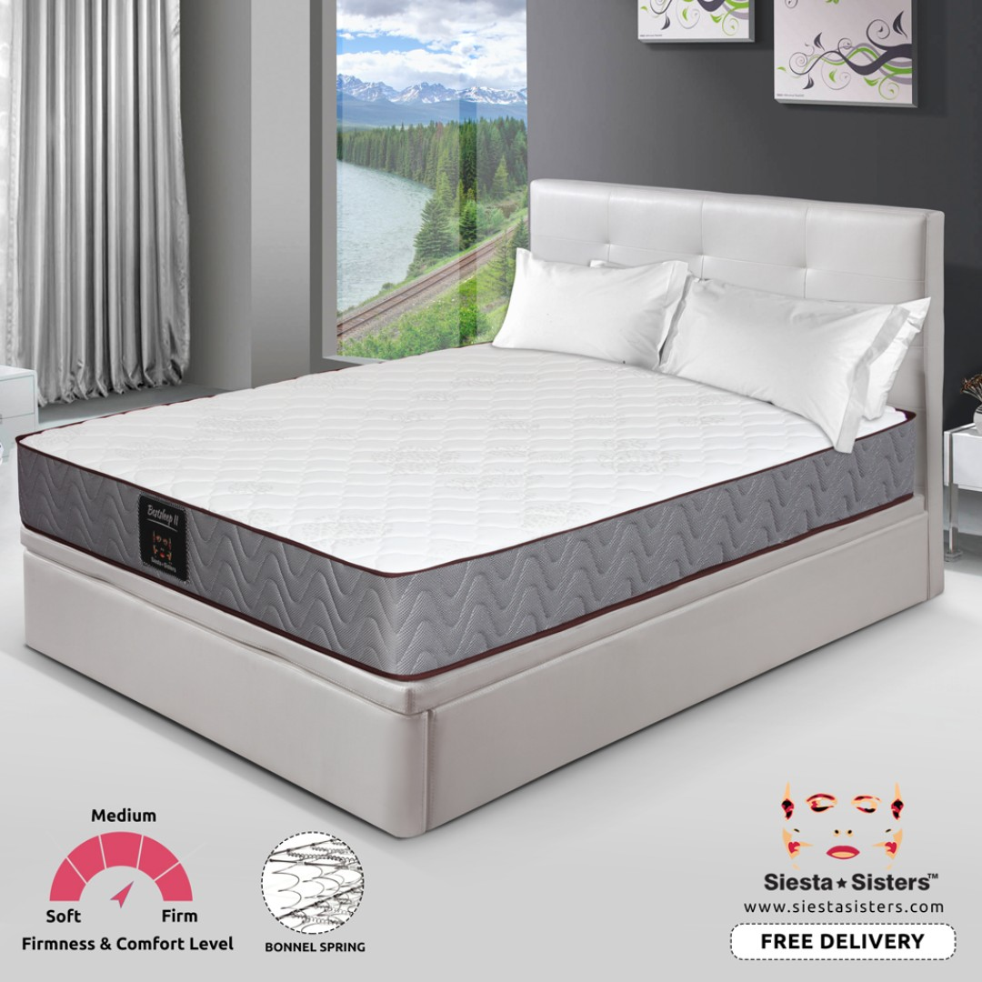 9 inches Spring Mattress with Storage Bed Frames | Single, Super ...
