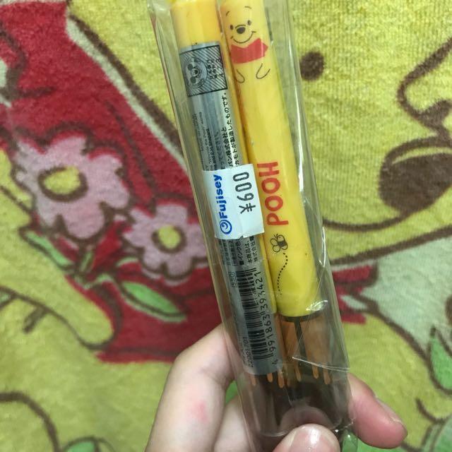 維尼原子筆