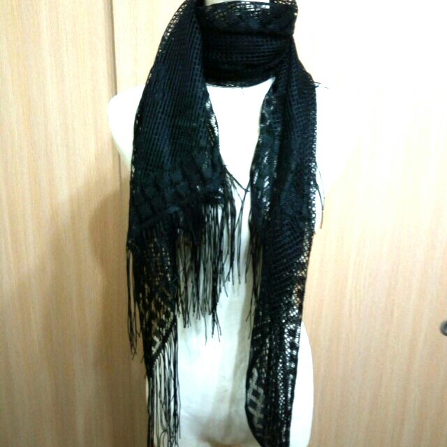 圍巾多種搭法