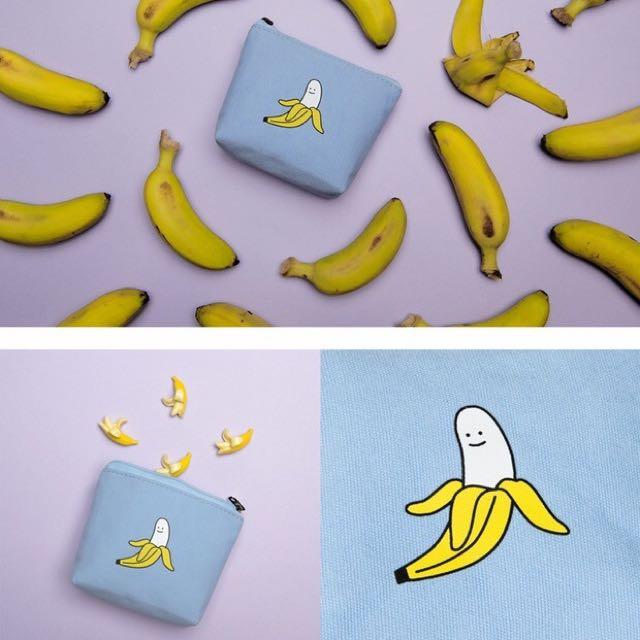 微笑系列帆布小零錢包