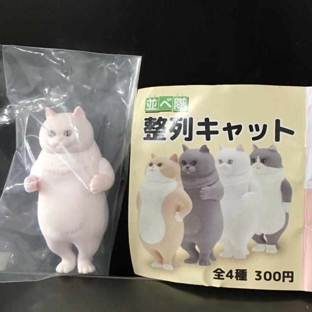整隊貓咪轉蛋 日本新上市