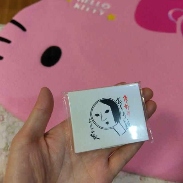 全新 正品 yojiya 蜜粉紙 日本製 日本帶回 珠光透明