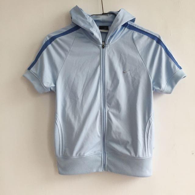 香港製 Nike 女運動短袖外套