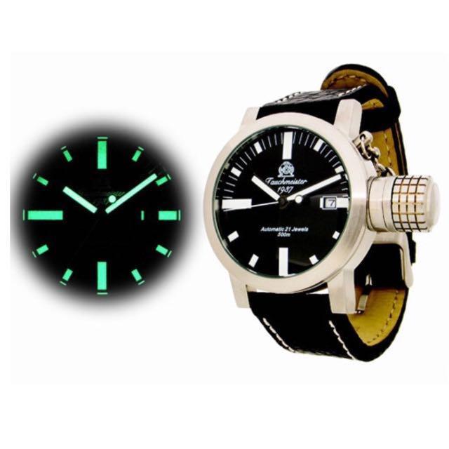 機械潛水錶 Tauchmeister T0117