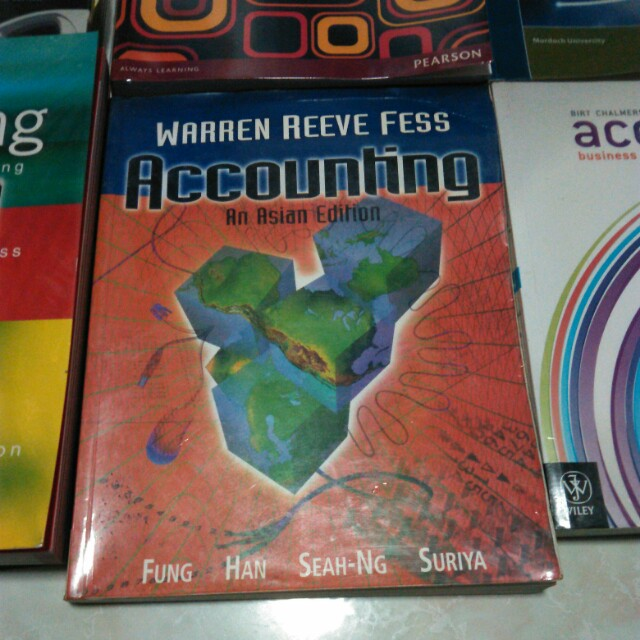 Accounting textbooks for sale