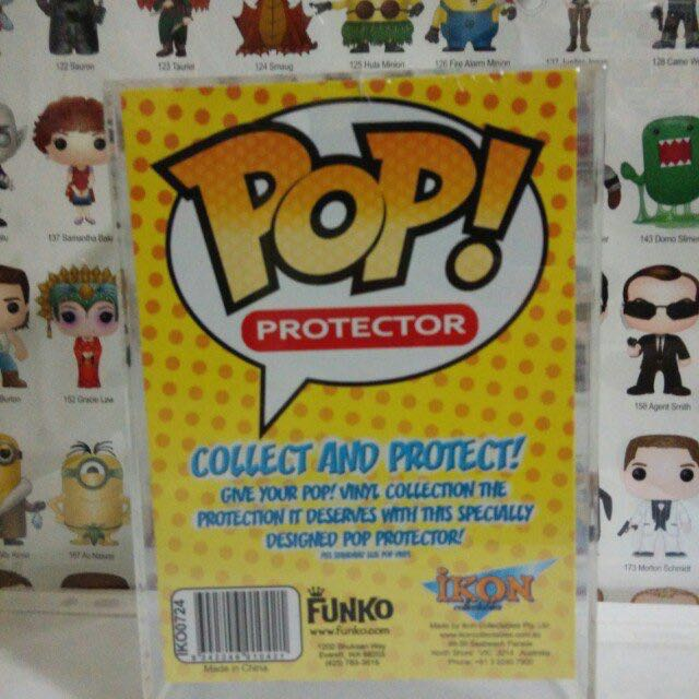 Acrylic Hard Case Protector Funko Pop Stack Collectible Toy Gift