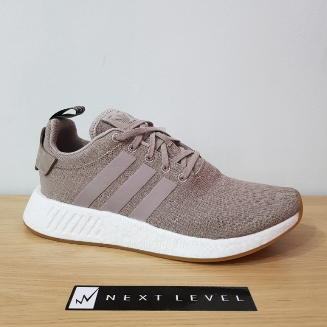 Authentic Adidas NMD R2 PK Vapour Grey