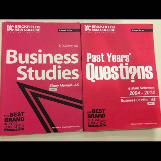 A-Level Business Book