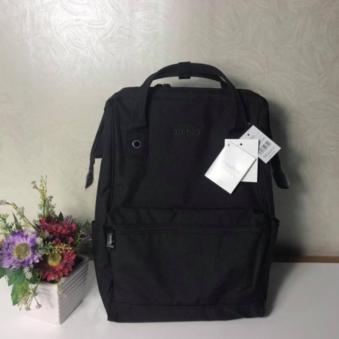 Anello Mottled Backpack - Black