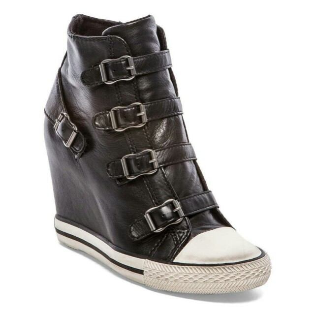 ASH United Wedge Buckle Sneakers