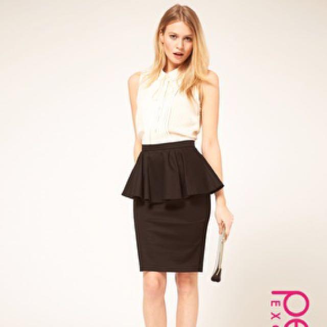 ASOS formal peplum dress #MidJan55