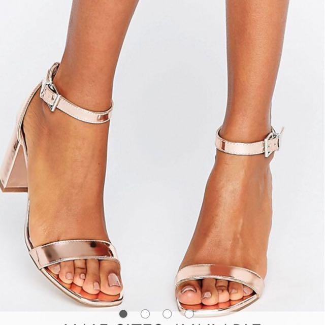 cfb9d2bfcd2 ASOS Hayden Block Heeled Sandals