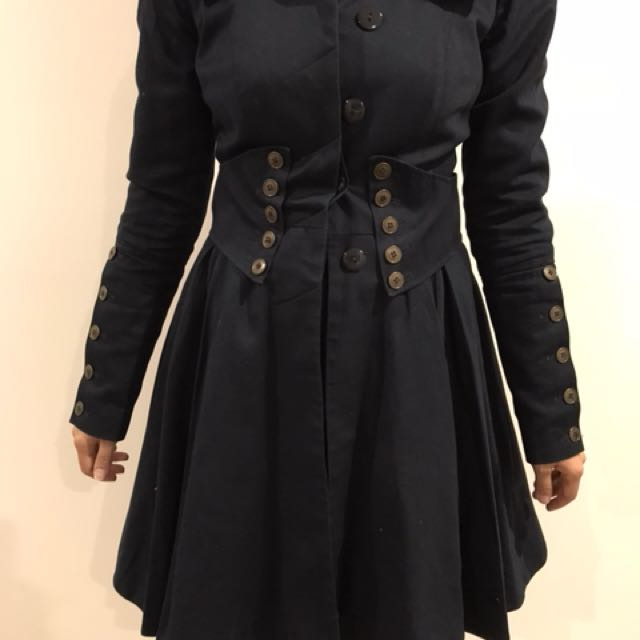 ASOS Navy coat