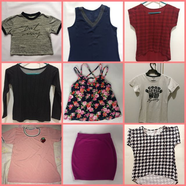 Assorted Tops 90 EACH   TAKE ALL P500
