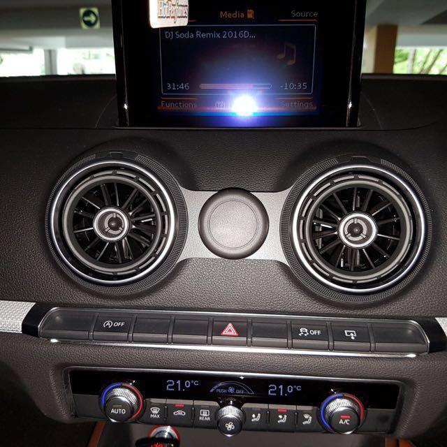 Audi A V Swivel Magnetic Cradle Cell Phone - Audi iphone 6 car cradle