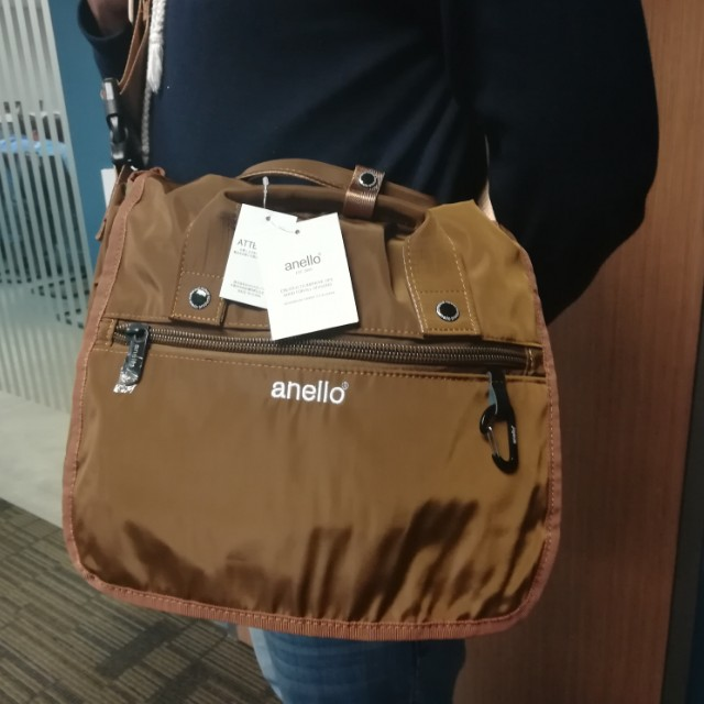 Authentic Anello Messenger Bag Unisex