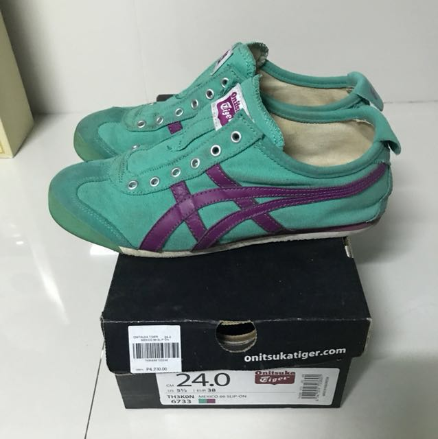 Authentic Onitsuka Tiger Mexico 66 slip on shoes