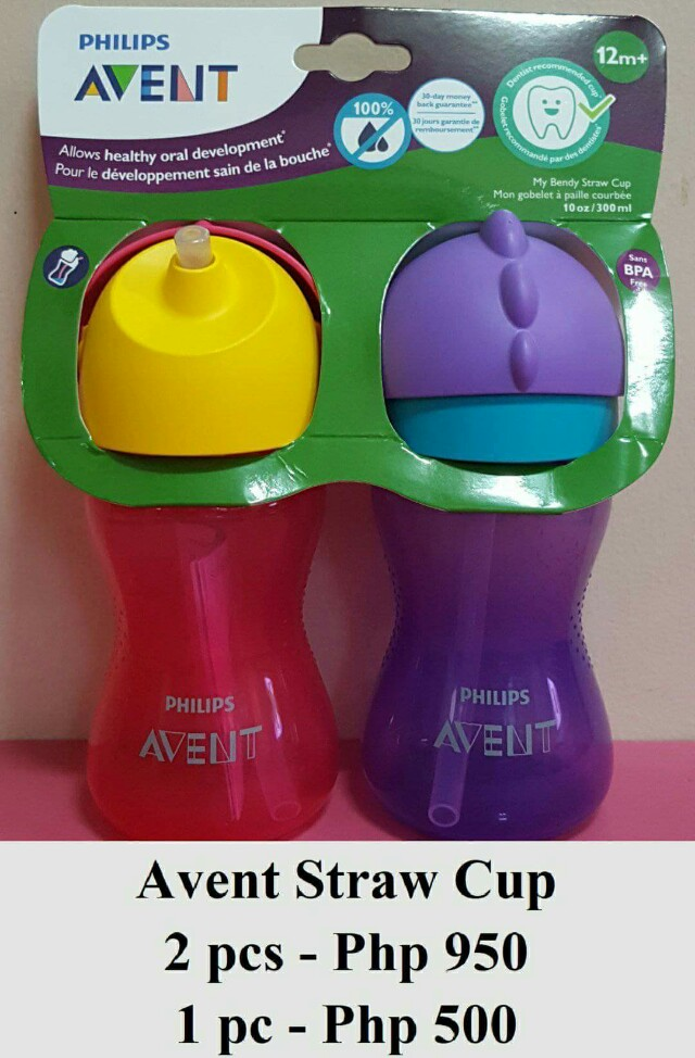 Avent My Bendy Straw Cup 10oz