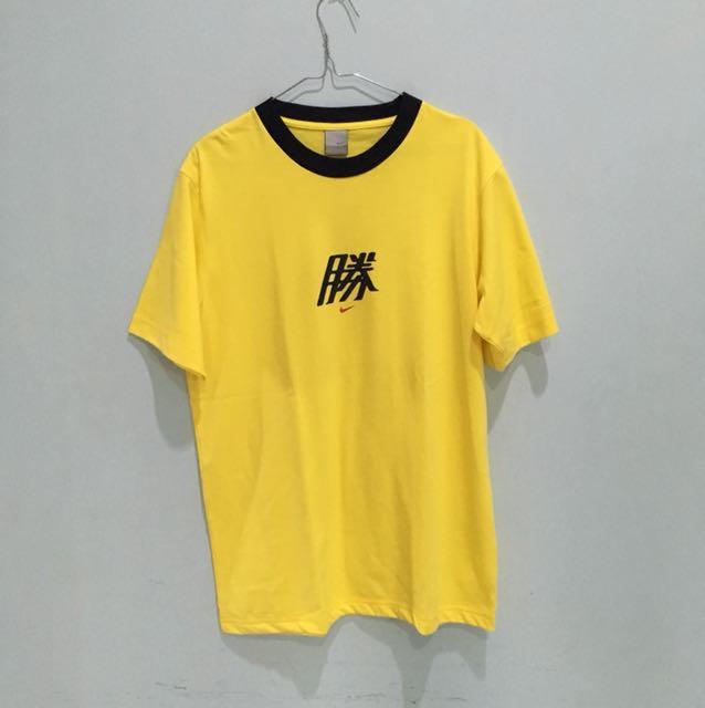 Baju kaos Kuning Nike
