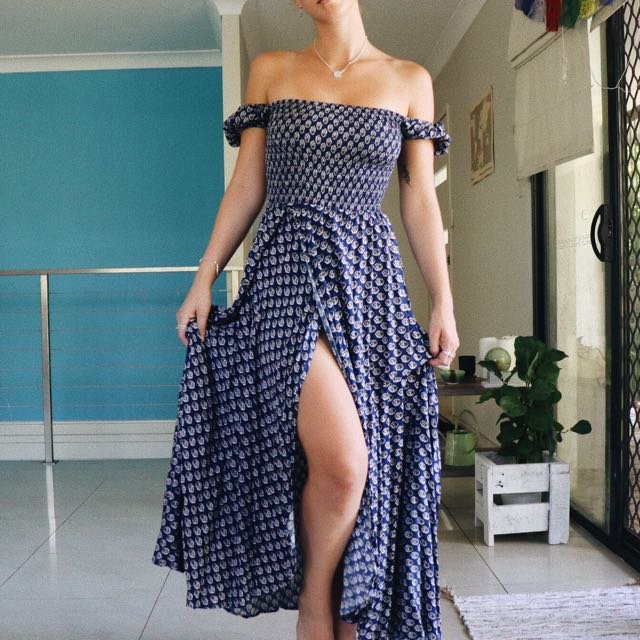Beautiful Auguste the label maxi dress
