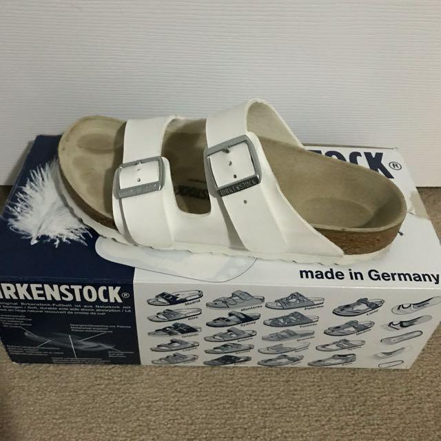 Birkenstock- white