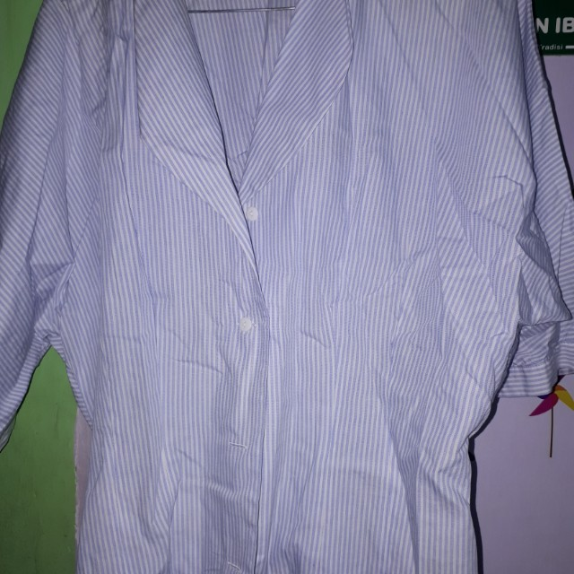 Blouse stripe blue