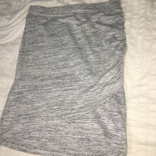 Body Shaping Heather Grey Skirt