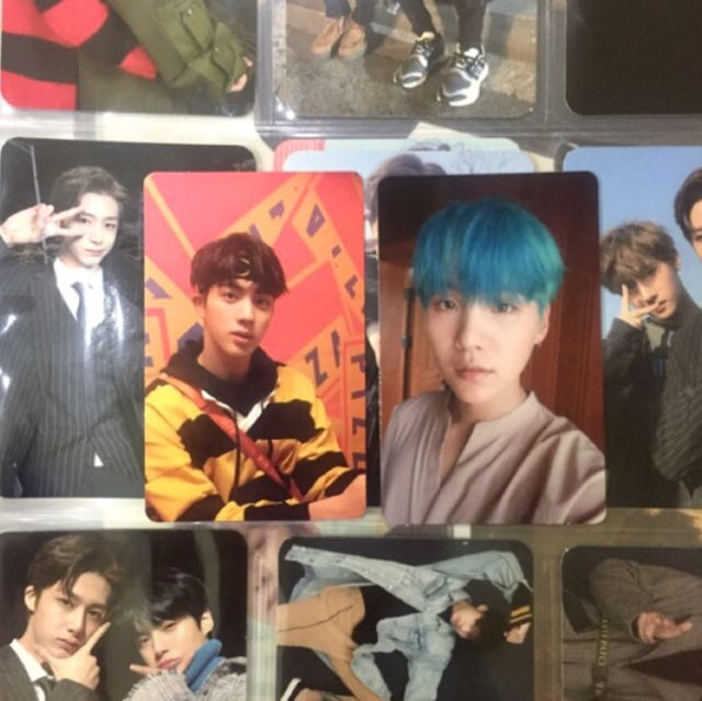 BTS Suga Jin love yourself photocard album pc