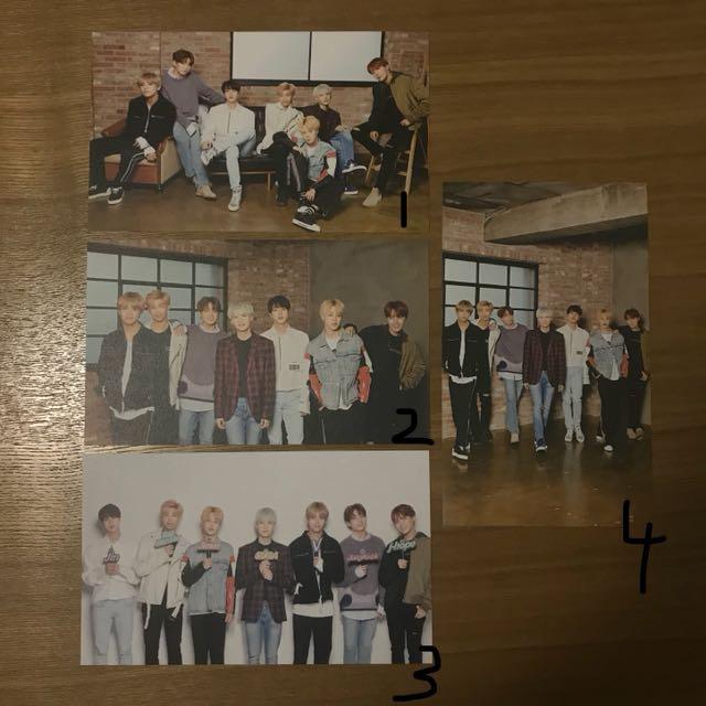 BTS x Mediheal group photocards