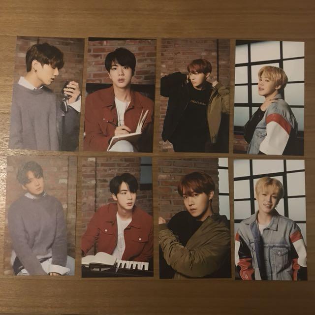 BTS x Mediheal individual photocards